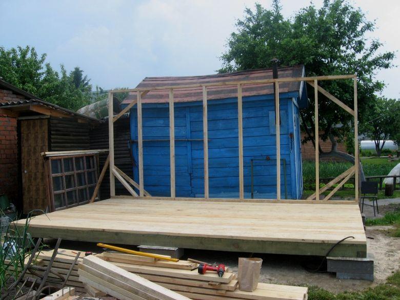 Как построить сарай из осб своими руками проекты 5
