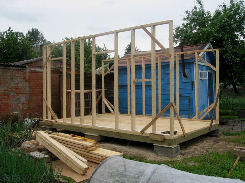 Как построить сарай из осб своими руками проекты 34
